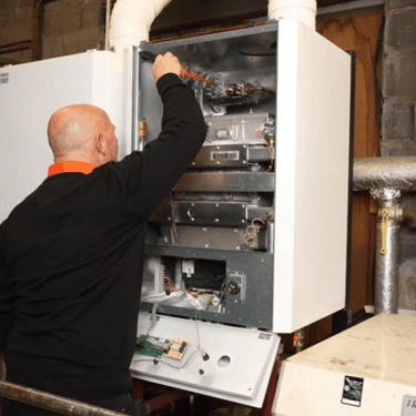 boiler replacement Bridgend