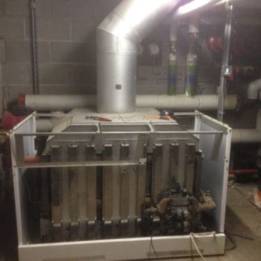 Servicing Commercial Boiler Newport
