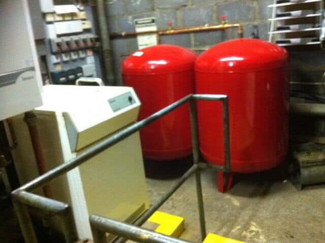 New expansion vessels installed at aberavon - Central Heating ...