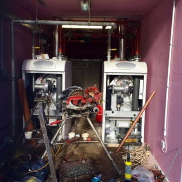 Plant Room installation Swansea